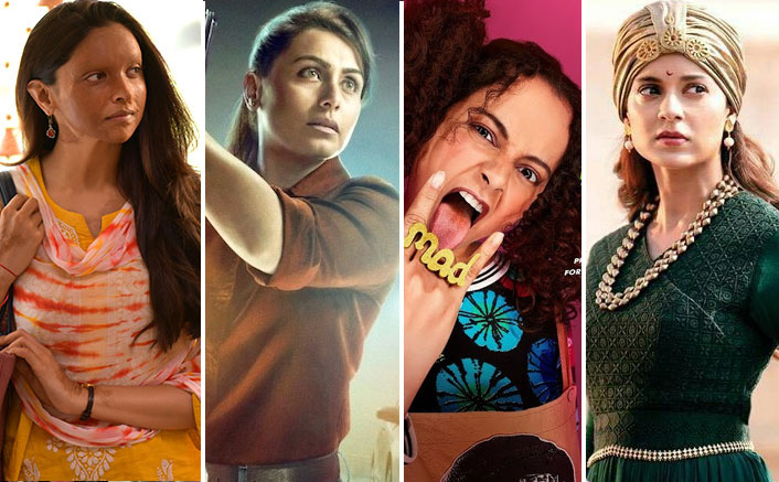Box Office: Chhapaak VS Recent Women Oriented Films Like Mardaani 2, Judgementall Hai Kya & Manikarnika, Which One Leads?