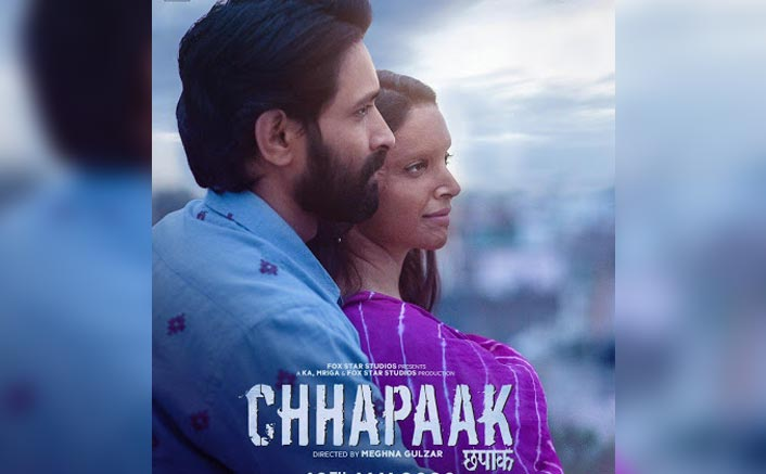 """*""""Chhapaak""""'s new movie poster is winsome and loveable. Check it out.*"""