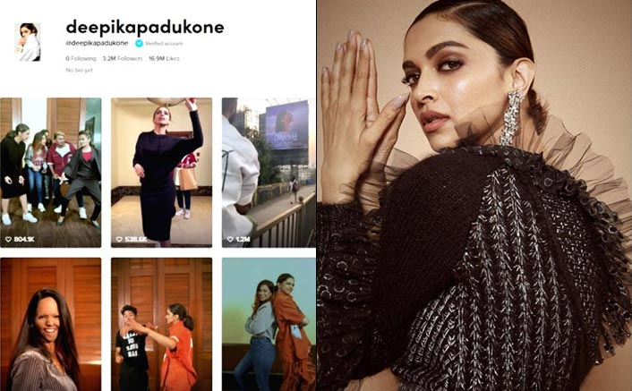Chhapaak Actress Deepika Padukone With 1.2 Million TikTok Followers Within 12 Hours Creates A Milestone