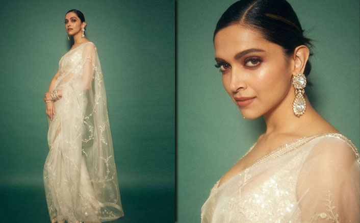 Deepika Padukone's Sheer White Sabyasachi Saree Is The Perfect Outfit To Surprise Your Hubby This Valentine's Day