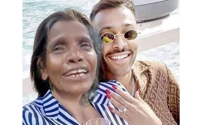Did Hardik Pandya Propose To Ranu Mondal & Not Natasa Stankovic? At Least The Meme Makers Think So