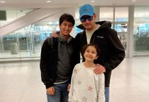 Doting Dad: Mahesh Babu Shares A Vacation Picture With His Children Gautham & Sithara From New York