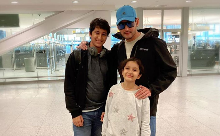 Mahesh Babu Shares A Vacation Picture With His Children From New York; Check Out