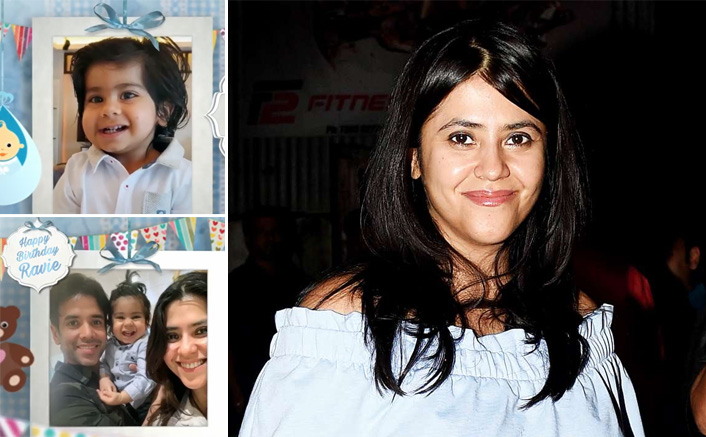 Ekta Kapoor reveals the first look of her son Ravie Kapoor on his first birthday; Check out!