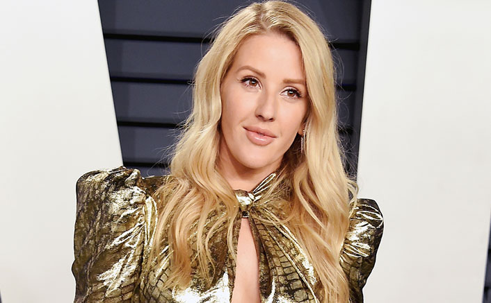 Ellie Goulding helps provide phones to the homeless