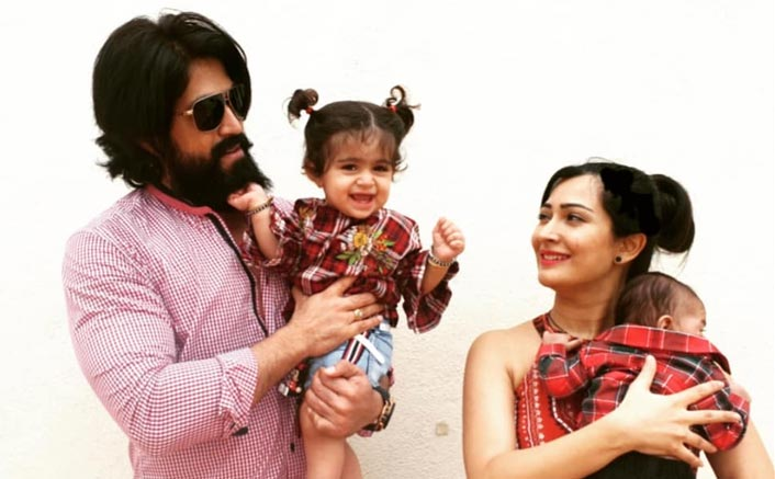 Awwdorable! KGF 2 Star Yash With Wife Radhika Pandit & Daughter Ayra Is Cutest Picture You Will See On The Internet Today!