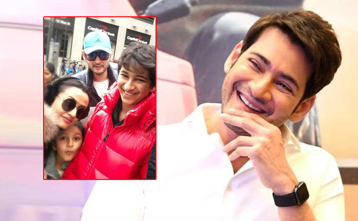 Family Goals: Mahesh Babu Shares An Adorable Family Picture From New York