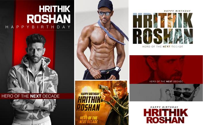 *Fans trend #HeroOfTheNextDecade to mark Hrithik Roshan's birthday!*