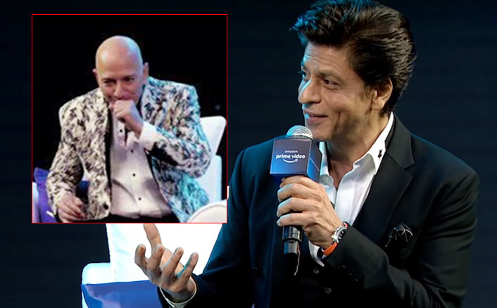 Firechat truly! When Shah Rukh Khan, Zoya Akhtar and Jeff Bezos came on the same stage. Find out!