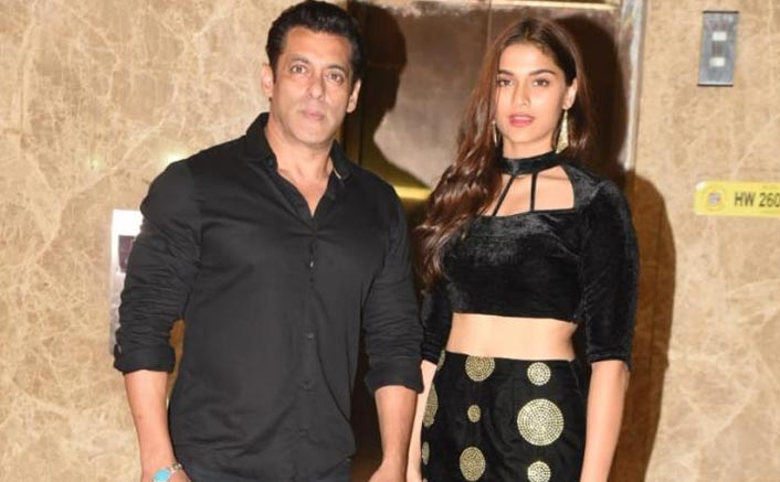 Salman Khan Dances His Heart Out On A Table With Dabangg 3 Co-Star Saiee Manjrekar During New Year Party
