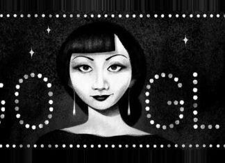 Google Puts Up A Visionary Doodle For Hollywood's First Chinese-American Actress Anna May Wong For A Special Reason
