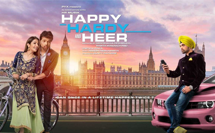 Happy Hardy and Heer Movie Review