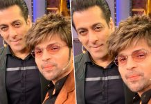 Himesh promotes Happy Hardy and Heer with Salman Khan and the team of bigg boss