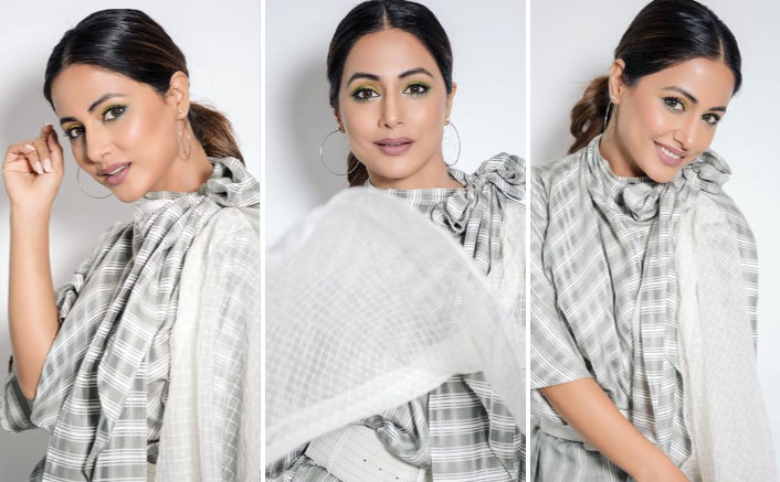 Hina Khan Rocks The Chic Look As She Steps Out For Damaged 2 Promotions, See PICS