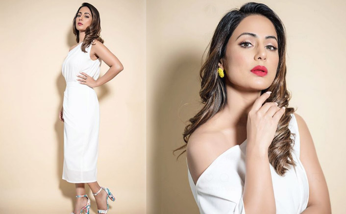 Hina Khan's White One-Shouldered Drop Dress Is An Outfit You Must Own For Casual Outings