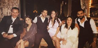 In PICS: Kareena Kapoor Khan, Saif Ali Khan, Virat Kohli, Anushka Sharma, Varun Dhawan & Natasha Dalal Welcome 2020 Together