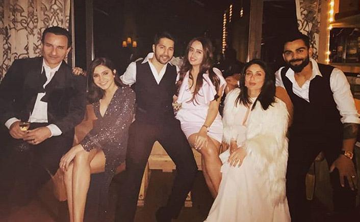 In PICS: Kareena Kapoor Khan, Saif Ali Khan, Virat Kohli, Anushka Sharma, Varun Dhawan & Natasha Dalal Welcome 2020 Together