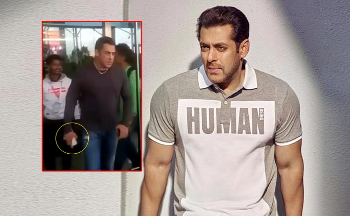 Is Salman Khan In A Need Of A New Phone? Snatches It From A Fan At The Airport