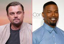 Jamie Foxx parties like Leonardo DiCaprio