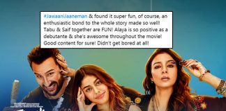Jawaani Jaaneman Gets Big Thumbs Up From Twitterati, People Are Loving Saif Ali Khan & Debutante Alaya F