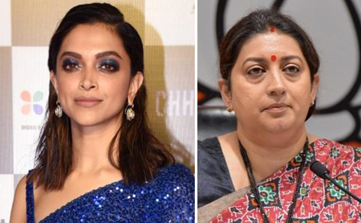"JNU Violence: Smriti Irani Takes A Dig At Deepika Padukone, Says, ""It Was Not Unexpected To Us"""