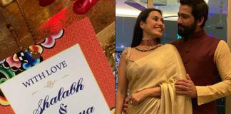 Kamya Punjabi shares glimpse of her wedding card