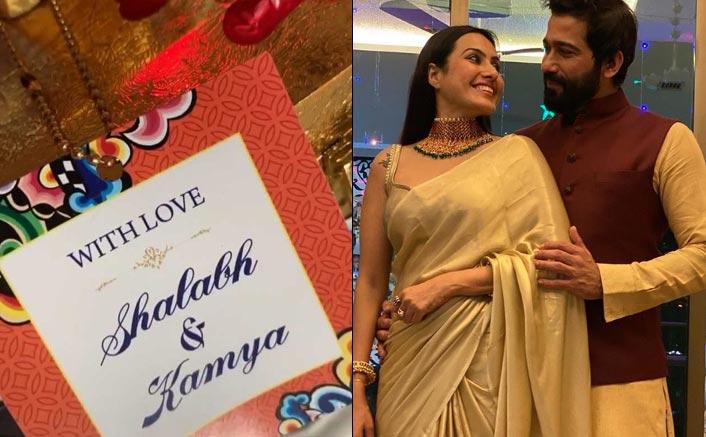 Kamya Punjabi shares glimpse of her wedding card