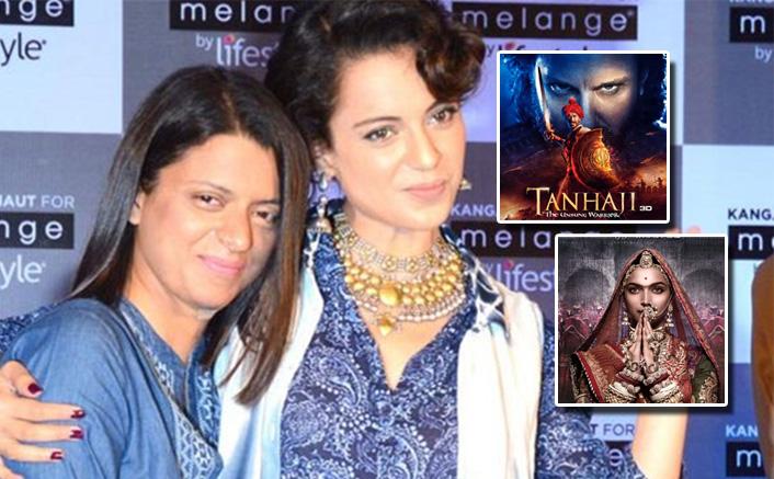 Kangana Ranaut's Sister Rangoli Calls Deepika Padukone's Padmaavat A 'Soft P*rn*, Urges Support For Ajay Devgn's Tanhaji