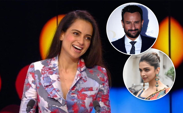 "Kangana Ranaut On Her Stand Against Deepika Padukone & Saif Ali Khan: ""Everytime A Girl Expresses Herself..."""