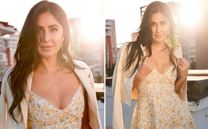 Katrina Kaif's Pretty Floral Dress Is The Perfect Wear For A Lunch Date