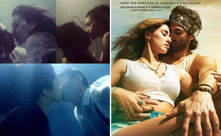 From Aditya Roy Kapur Disha Patani To Sushant Singh Rajput Kriti Sanon Iconic Underwater Kisses Of
