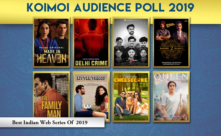 Koimoi Audience Poll 2019: From Sacred Games 2 To Kota Factory- Choose Your Favourite Indian Web Series Of 2019
