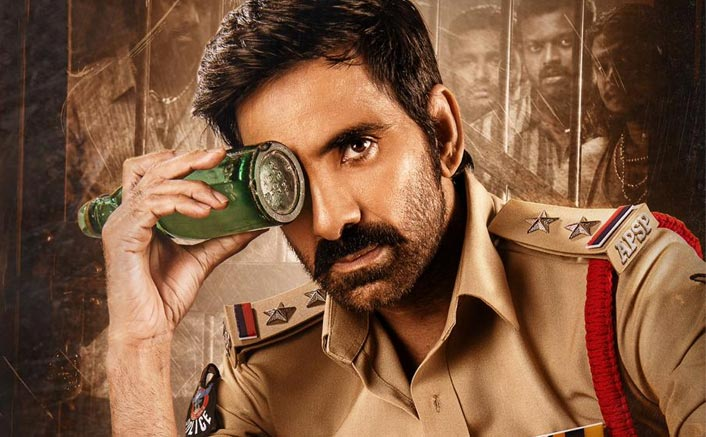 Krack: Ravi Teja As A Badass Cop In The First Look Poster From His Next