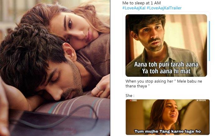 Love Aaj Kal Trailer: Kartik Aaryan-Sara Ali Khan Starrer Finds Its Way Into The Meme Feast!