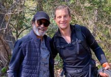 Man Vs Wild: Bear Grylls Shares A Cool Picture With Rajinikanth From The Wild