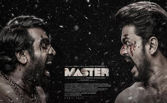 Master Third Look: Thalapathy Vijay & Vijay Sethupathi Set For A Face Off In This New Intense Poster