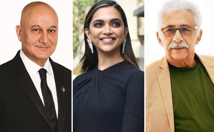 Naseeruddin Shah Calls Anupam Kher A Clown; Supports Deepika Padukone Over JNU Visit