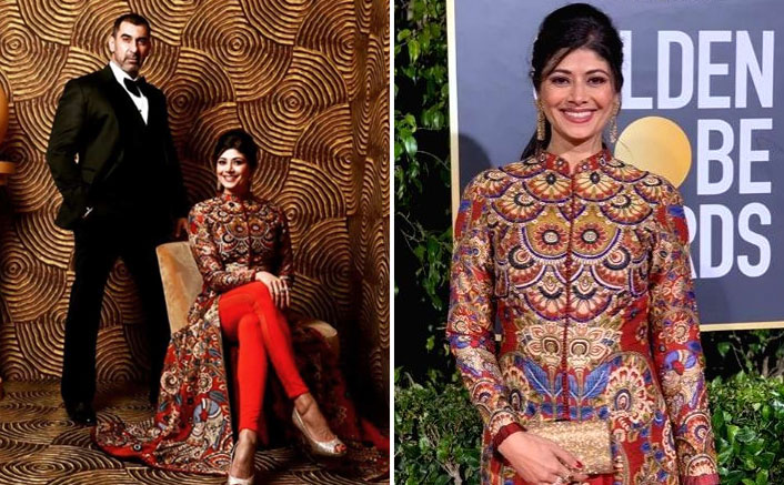 Nawab Shah, Pooja Batra attend the Golden Globes after-party
