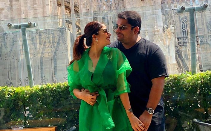 Nehha Pendse shares New Year's kiss with fiance Shardul