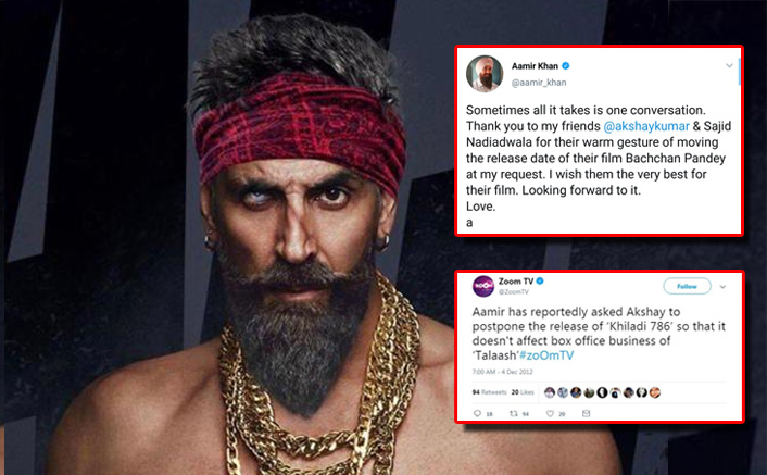 Netizens Upset With Akshay Kumar For Avoiding Clash With Aamir Khan's Lal Singh Chaddha, Trend Shelve Bachchan Pandey