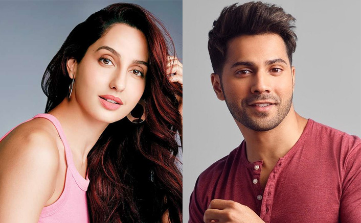 Nora Fatehi and Varun Dhawan's have fun on the sets of Street Dancer 3