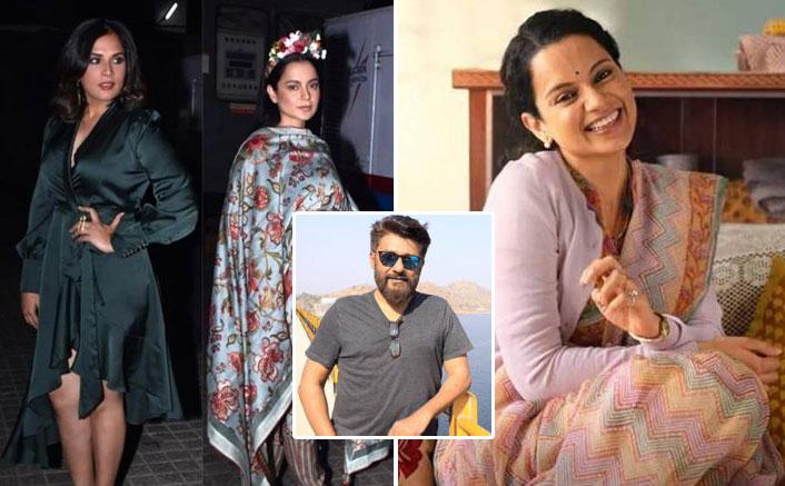 Panga Actress Richa Chadha Slams Vivek Agnihotri For Accusing Her Of Not Voicing Her Opinions Like Co-Star Kangana Ranaut