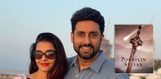 Ponniyin Selvan: First Poster Of Aishwarya Rai Bachchan's Film Out; Abhishek Bachchan's Reaction To It Is All Of Us!