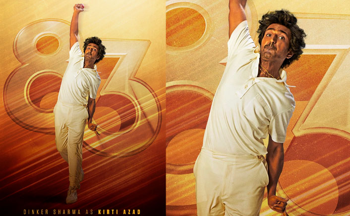 '83 New Poster OUT! 'Shararti Devil' Dinker Sharma As Kirti Azad Nails The Off-Spin Action