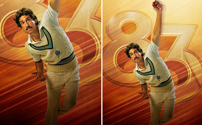 Presenting the youngest player in the team, Dhairya Karwa as Ravi Shastri in the latest poster of 83