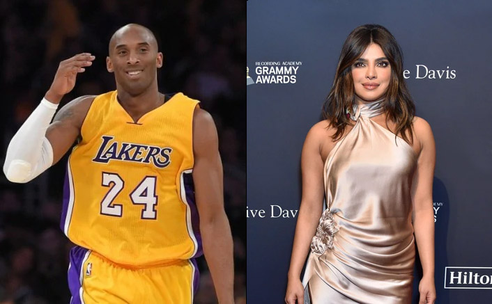 Priyanka Chopra's special way of paying tribute to Bryant at Grammys