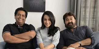 Ram: Trisha Krishnan Chills With Mohanlal & Jeethu Joseph On Sets Of Their Action Thriller