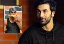 Ranbir Kapoor strikes a pose with banana