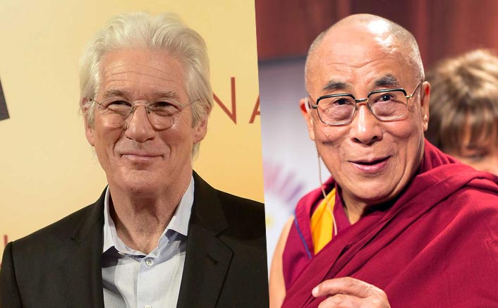 Richard Gere attends Dalai Lama's session in Bodh Gaya