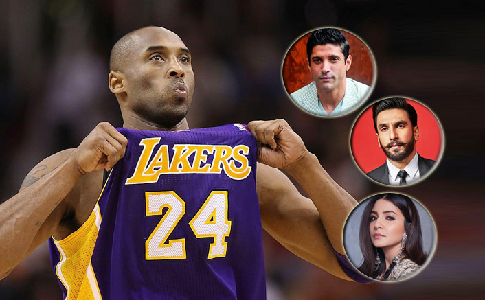 #RIPMamba: Ranveer Singh, Anushka Sharma & Others Remember Basketball Legend Kobe Bryant